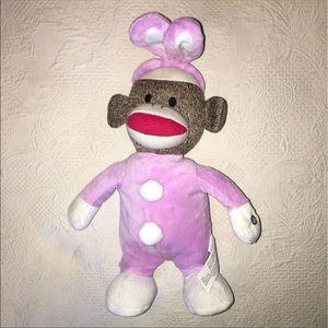 Gemmy sock monkey easter bunny Plush spring